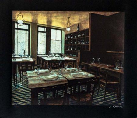 Siebdruck Renoux - Interior Van Gogh
