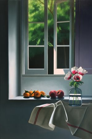 Keine Technische Cohen - Interior with Anemones and Fruit
