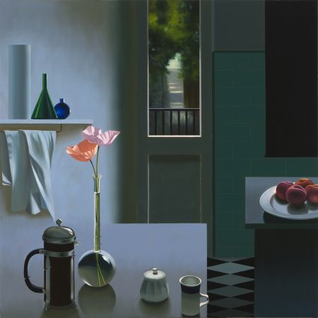 Keine Technische Cohen - Interior with Coffee Pot and Poppies