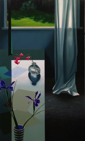 Keine Technische Cohen - Interior with Iris and Sweet Peas