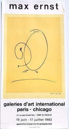 Lithographie Ernst - International Art Gallery Paris- Chicago