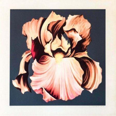 Siebdruck Nesbitt - Iris