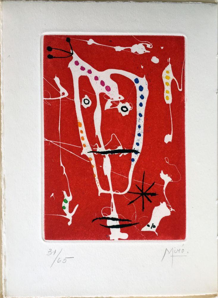 Illustriertes Buch Miró - Jacques Dupin : LES BRISANTS (Paris 1958)