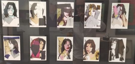 Offset Warhol - Jagger M. invitation card - portfolio