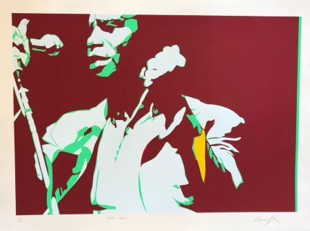 Siebdruck Rancillac - James Brown