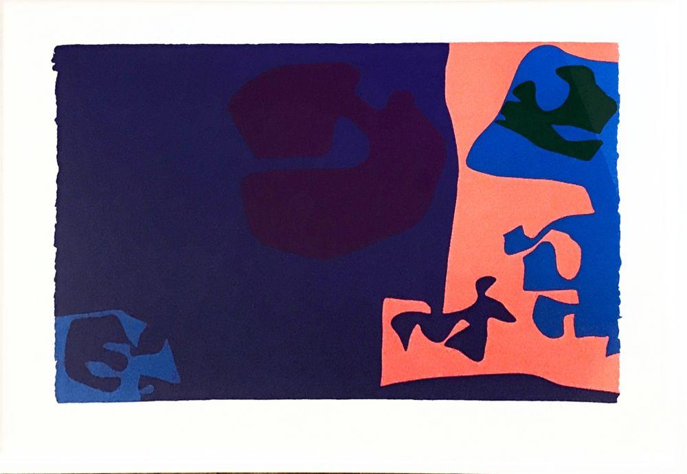 Siebdruck Heron -  January 1973: Plate 18