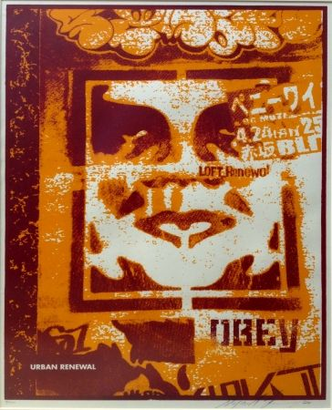Siebdruck Fairey - Japan Stencil