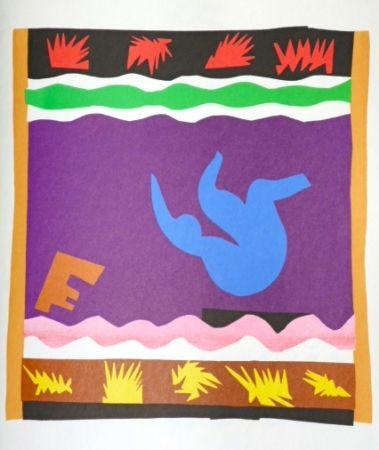 Lithographie Matisse - Jazz le toboggan