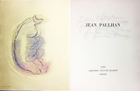 Illustriertes Buch Fautrier - Jean Paulhan : FAUTRIER L'ENRAGÉ (1949)