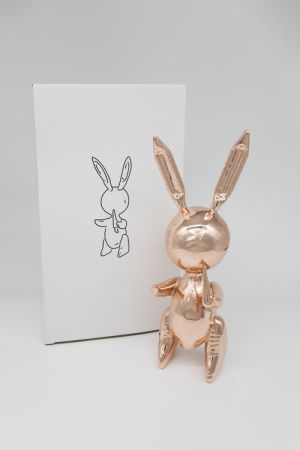 Keine Technische Koons - Jeff Koons (After) - Balloon Rabbit Rose Gold