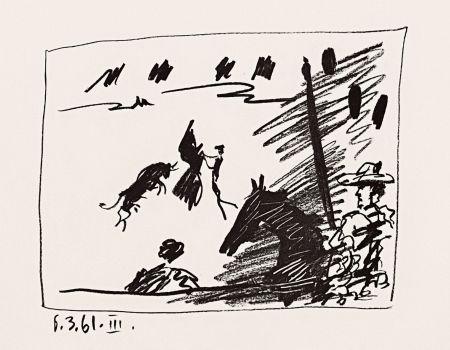 Lithographie Picasso - Jeu de la Cape