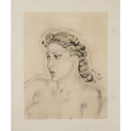 Multiple Foujita - Jeune Femme Blonde ,1931