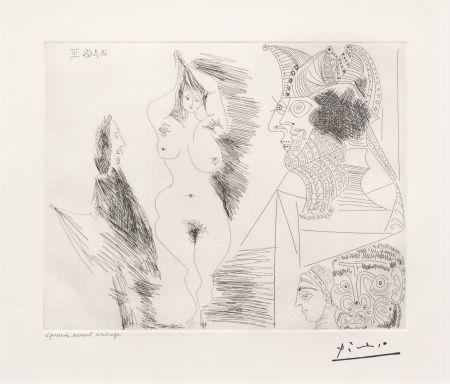 Stich Picasso - Jeune Femme et Gentilhomme