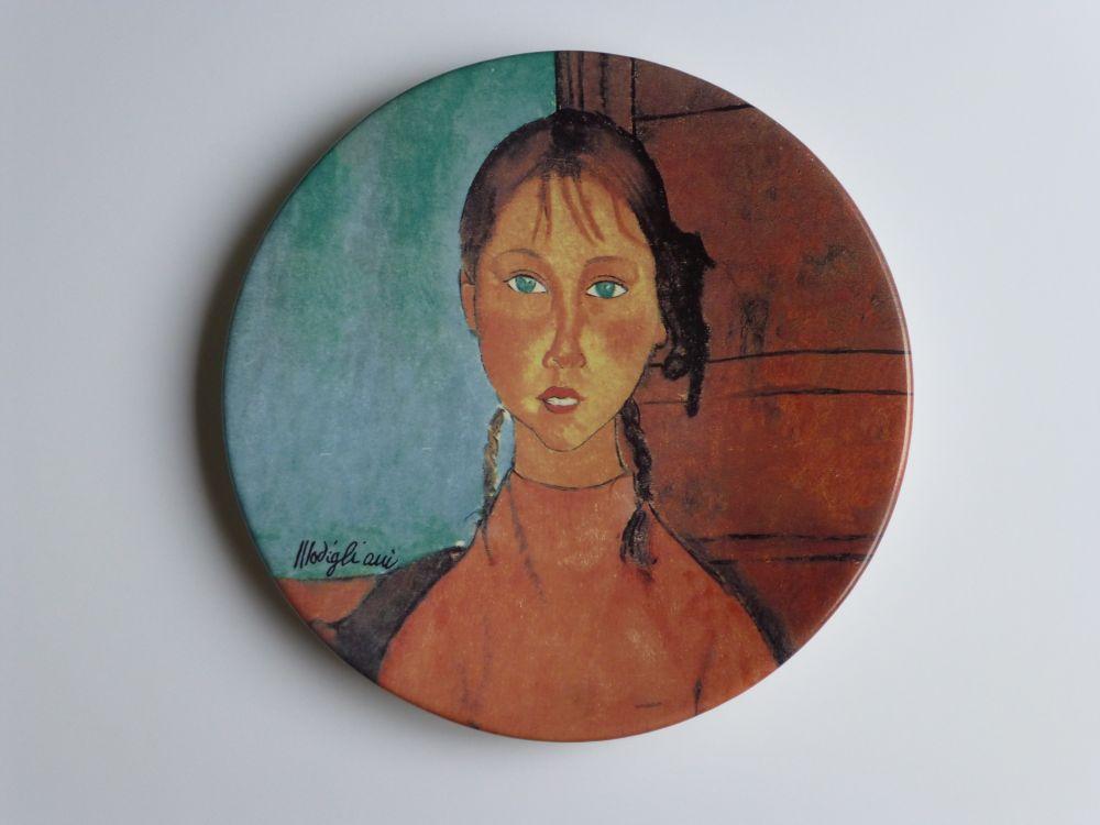 Keine Technische Modigliani - Jeune fille aux yeux verts