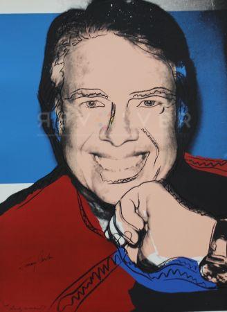 Siebdruck Warhol - Jimmy Carter II (FS II.151)