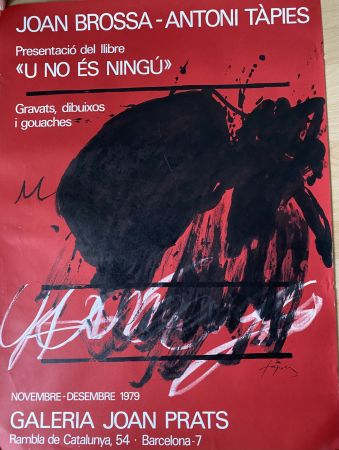 Plakat Tàpies - Joan Brossa- Antoni Tàpies Poster