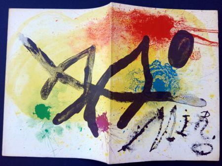 Illustriertes Buch Miró - JOAN MIRÒ. OEUVRE GRAPHIQUE ORIGINAL. CÉRAMIQUES - HOMMAGE MICHEL LEIRIS