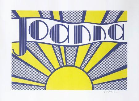 Lithographie Lichtenstein - Joanna (C. III.24)