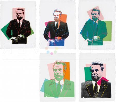 Siebdruck Warhol -  John Gotti Complete Portfolio By Andy Warhol