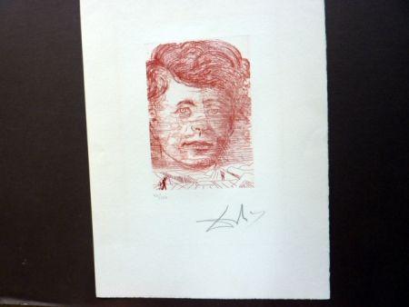 Stich Dali - John Kennedy (Famous Men Portfolio)