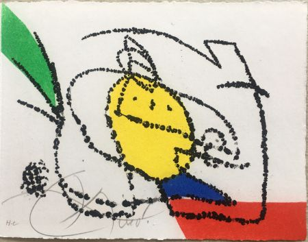 Illustriertes Buch Miró - Jordi de Sant Jordi : CHANSON DES CONTRAIRES. Avec une gravure de Joan Miró. 1976