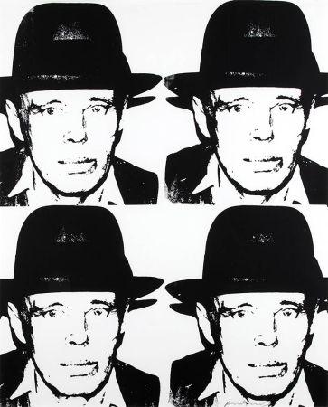 Siebdruck Warhol - Joseph Beuys