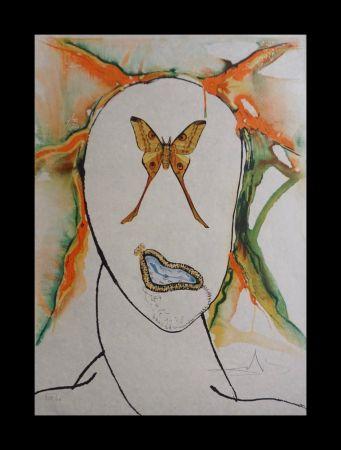 Lithographie Dali - Kabuki Dancer