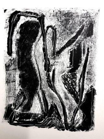 Lithographie Atlan - Kafka
