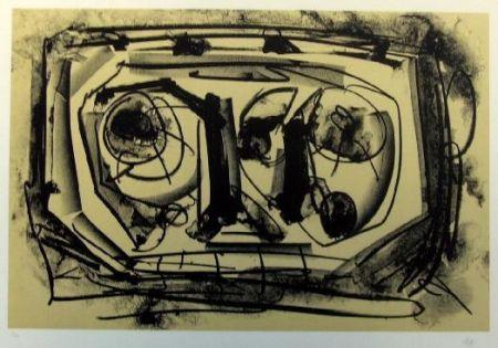 Lithographie Saura - Kafka