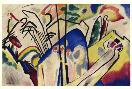 Illustriertes Buch Kandinsky - KANDINSKY. Période dramatique 1910-1920. Juillet 1955. DERRIÈRE LE MIROIR N° 77-78.