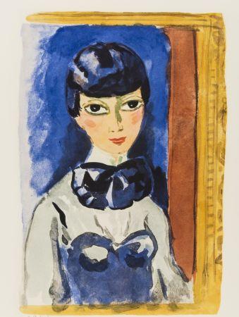 Lithographie Van Dongen - Kees Van DONGEN (1877-1968). Claudine, circa 1950. Lithographie signée.