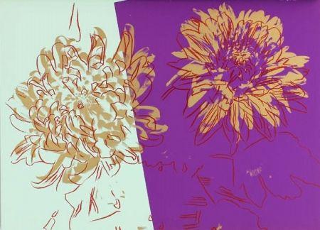 Siebdruck Warhol - Kiku