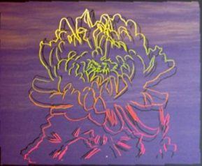 Siebdruck Warhol - Kiku Flower (FS.II.307)