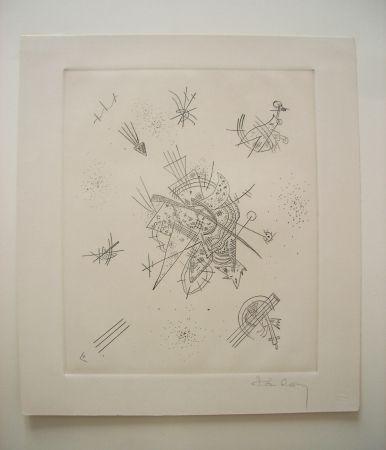 Kaltnadelradierung Kandinsky - Kleine Welten X