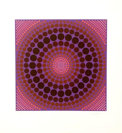 Siebdruck Vasarely - Koeroek