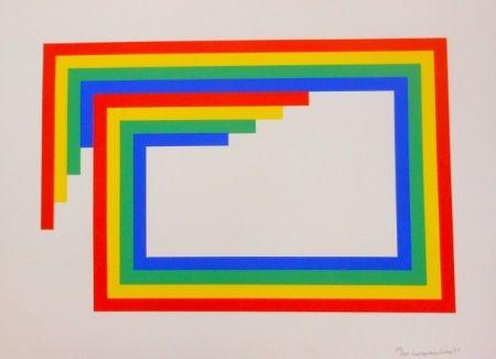 Siebdruck Loewensberg - Komposition