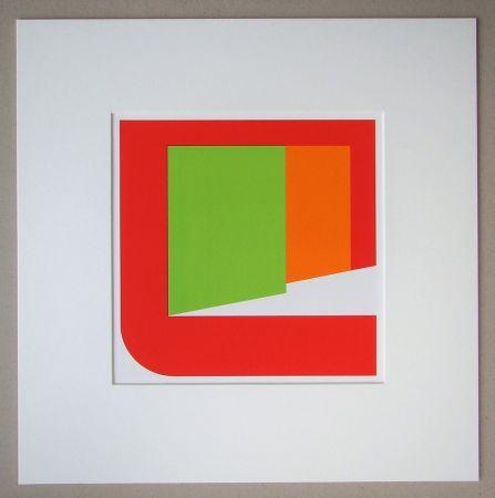 Siebdruck Pfahler - Komposition 1969