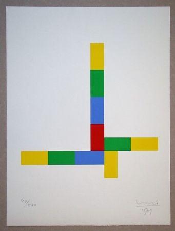 Siebdruck Bill - Konkrete Komposition, 1969