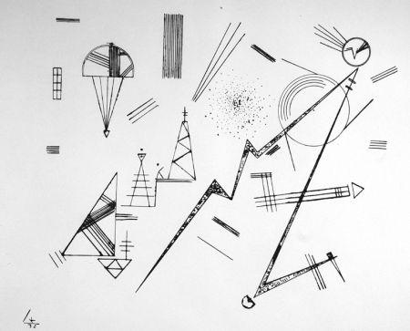 Lithographie Kandinsky - Kreis der Freunde des Bauhauses