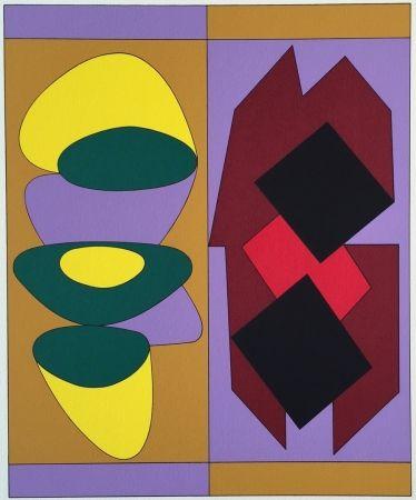 Siebdruck Vasarely - Kris Bille, From Ion Album