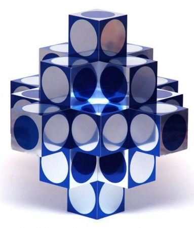 Multiple Vasarely - Kroa Bleu 1