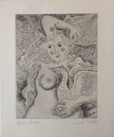 Stich Masson - Léda aux trois perles