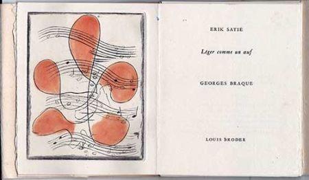 Illustriertes Buch Braque - Léger comme un oeuf