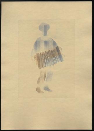 Illustriertes Buch Alexeïeff - Léon-Paul Fargue : POÈMES. Eaux-fortes en couleurs par Alexeïeff (1943)