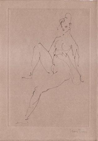 Illustriertes Buch Fini - L'épouse Infidèle.  Poemes.  Deux Eaux-Fortes Originales De Leonor Fini.