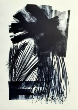 Lithographie Hartung - L-17-1973,