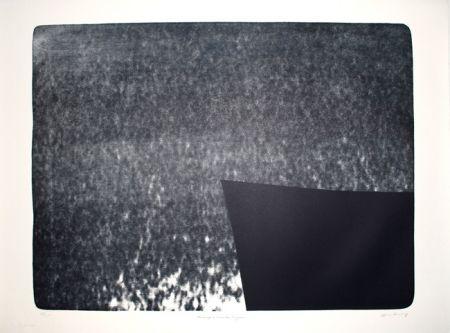 Linolschnitt Hartung - L-25 - Hommage à Eva Bergman