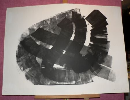 Lithographie Hartung - L43