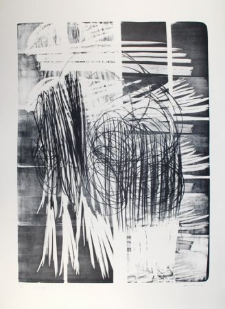 Lithographie Hartung - L - 16B - 1974