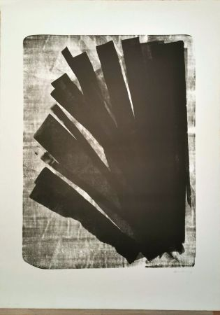Lithographie Hartung - L 1973-58, 1973